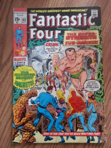 Fantastic Four #102  Sept 1970