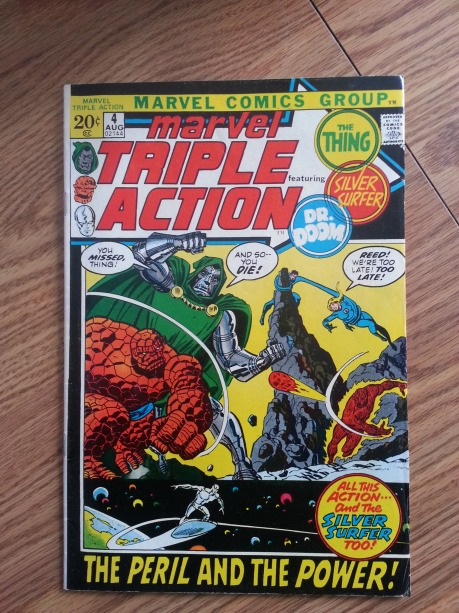 Marvel Triple Action #4  reprints Fantastic Four #60