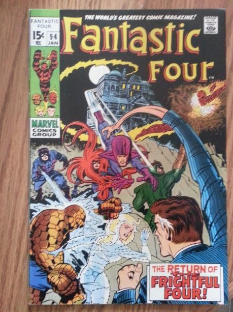 Frightful Four!