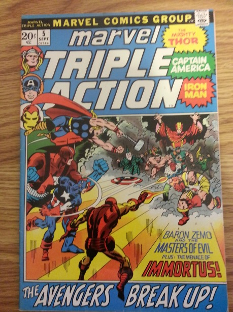 Marvel Triple Action #5